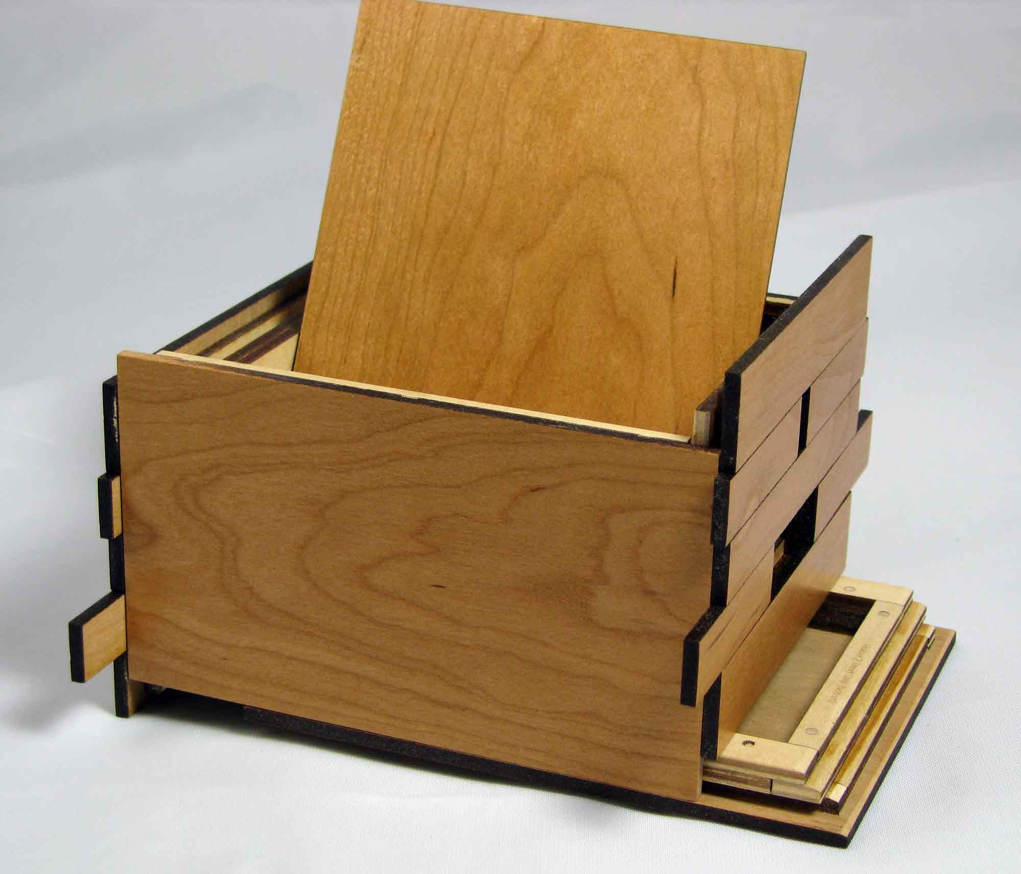 Wood Puzzle Plans Box