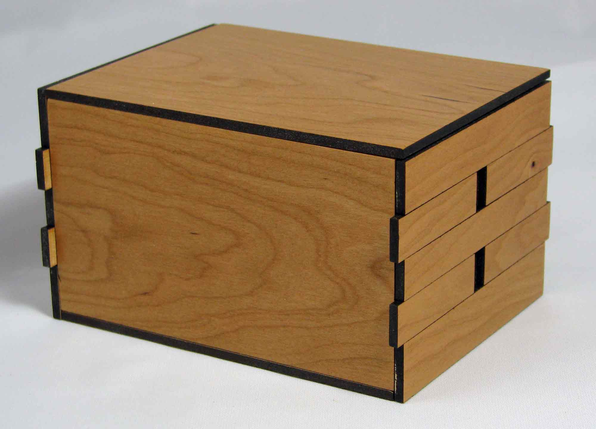Woodworking wooden puzzle box plans PDF Free Download