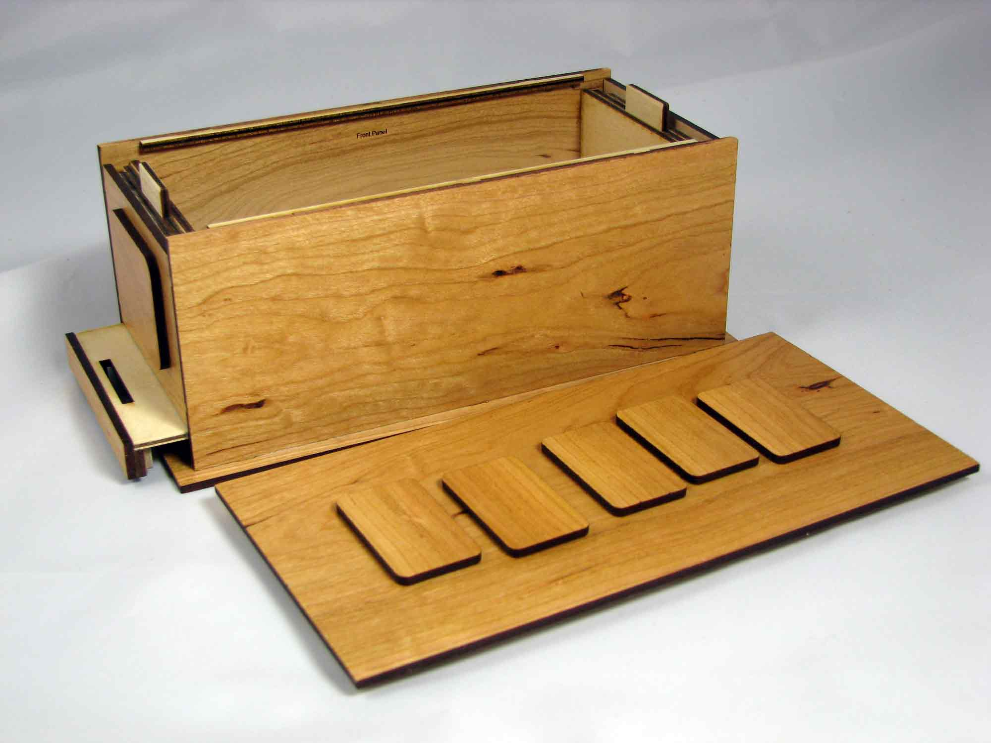 Woodworking puzzle box plans PDF Free Download